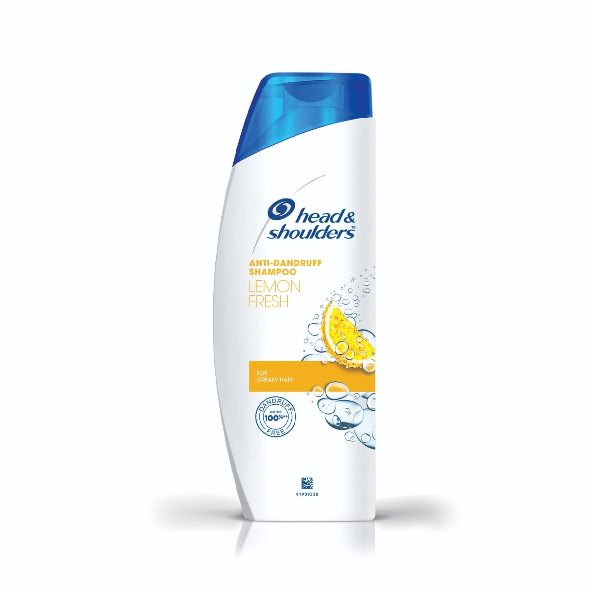 Head & Shoulders Anti-Dandruff Lemon Fresh Shampoo, 180 ml, Pack of 1