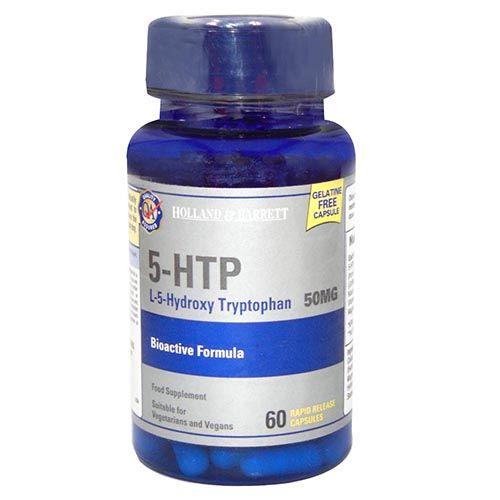 Holland & Barrett 5-HTP Bioactive Formula 50 mg, 60 Capsules, Pack of 1
