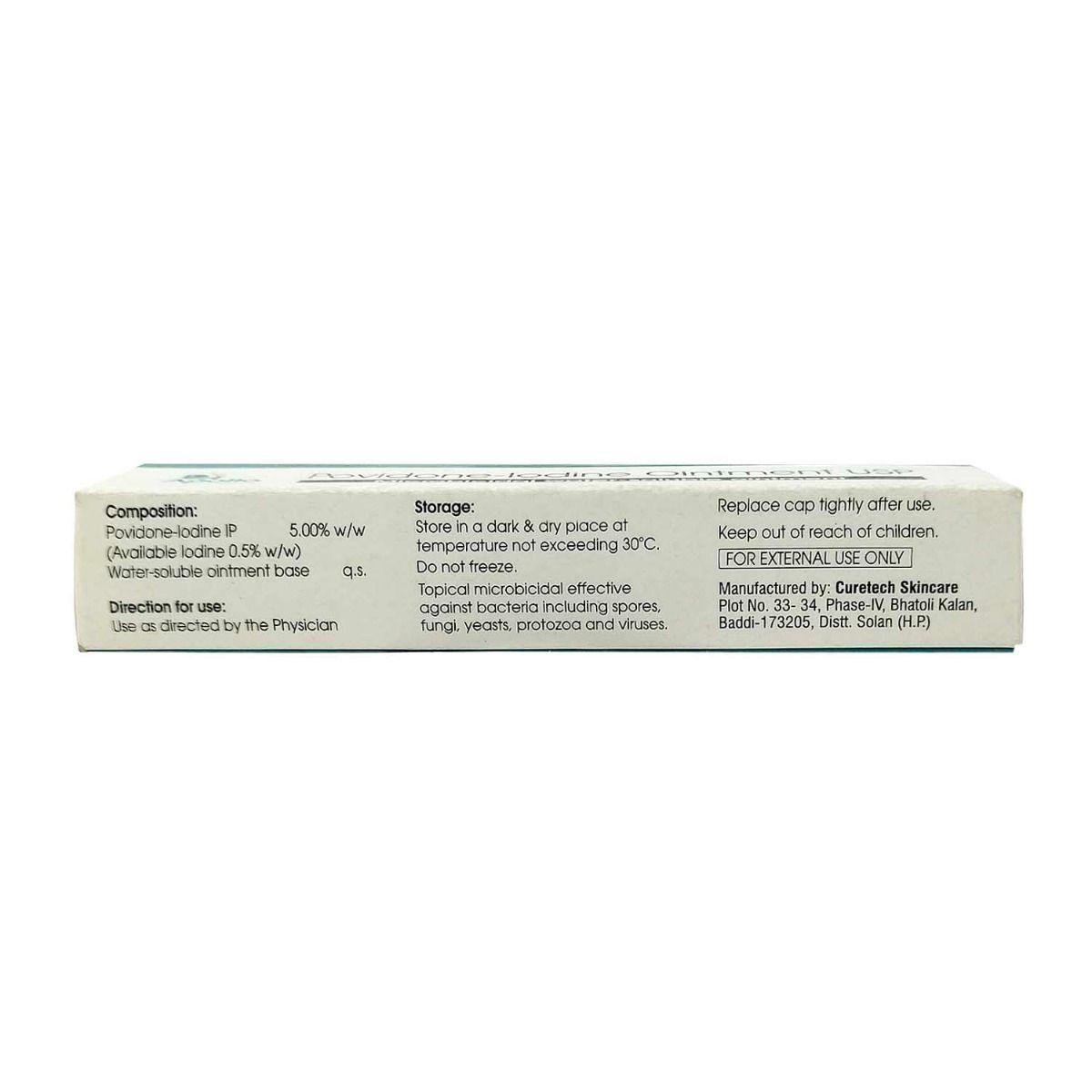 Apollo Pharmacy Povidone-Iodine Ointment USP, 20 gm, Pack of 1