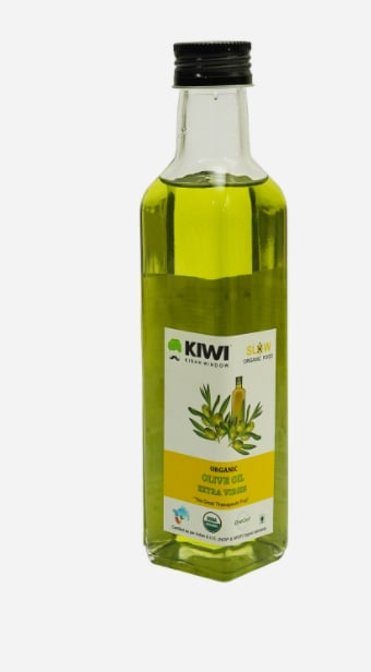 Kiwi Org Olive Oil Extra Virgin 250Ml, Pack of 1
