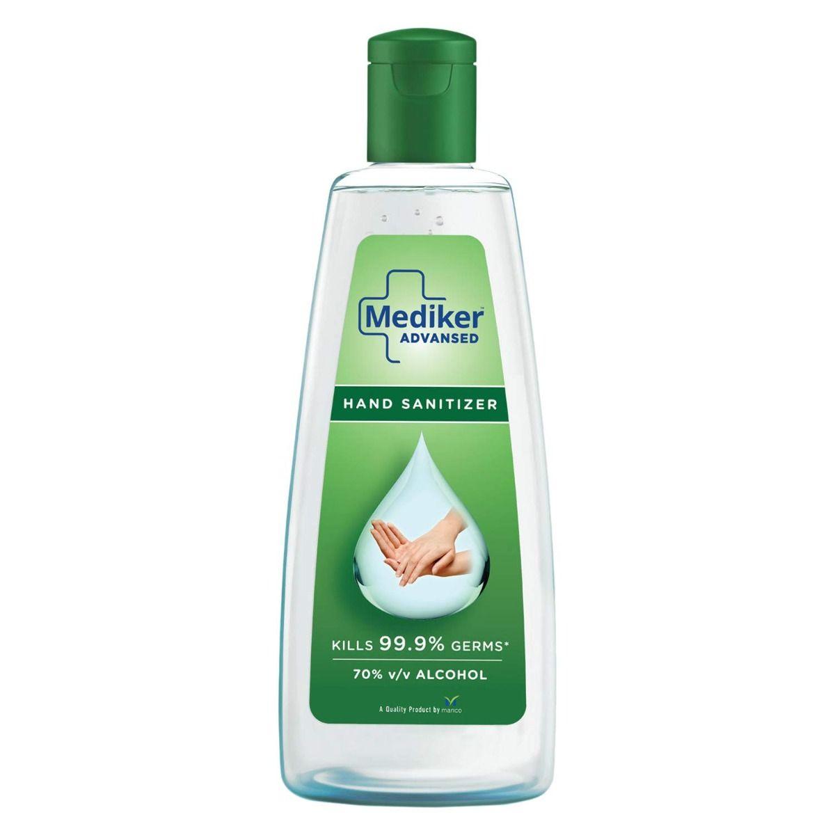 Mediker Advansed Hand Sanitizer, 34 ml, Pack of 1