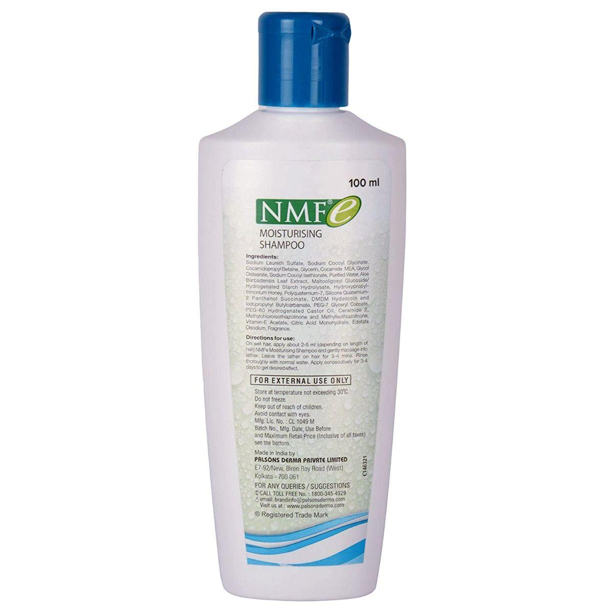 Nmfe Moisturising Shampoo, 100 ml, Pack of 1