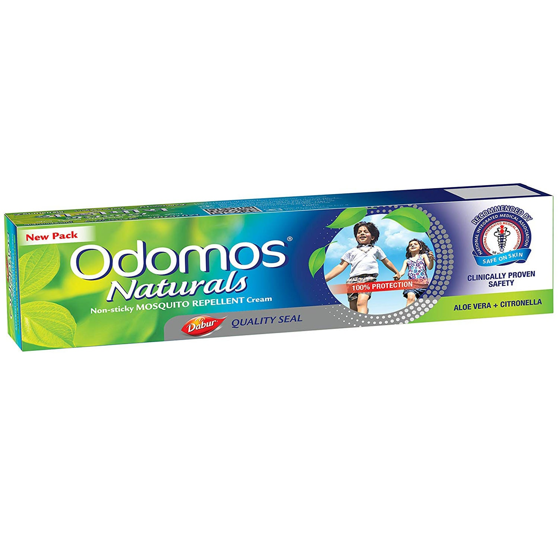 Odomos Naturals Mosquito Repellent Cream, 100 gm, Pack of 1