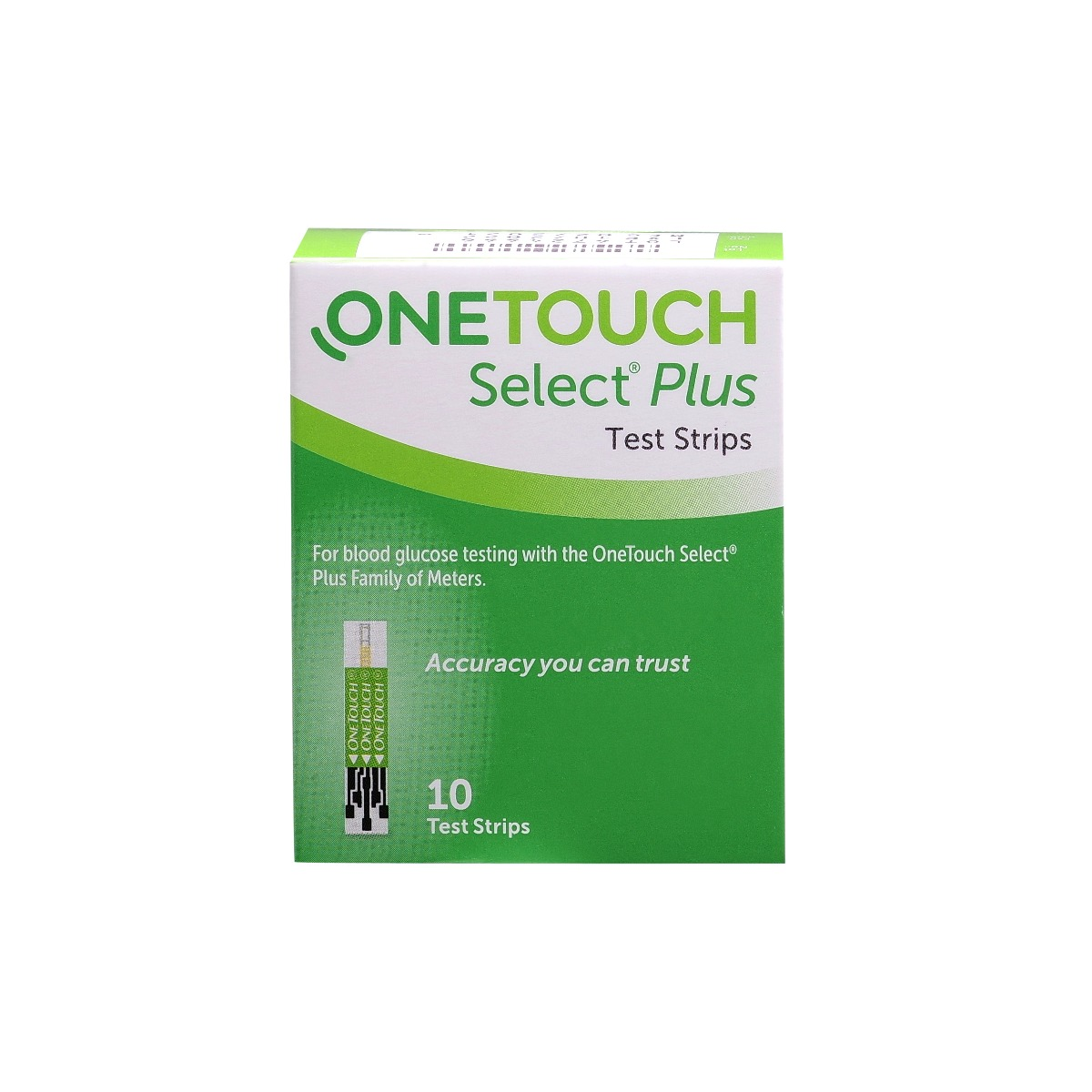 OneTouch Select Plus Test Strips, 10 Count, Pack of 1