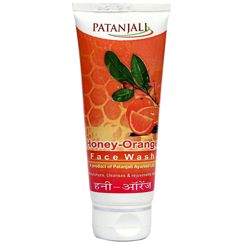Patanjali Honey-Orange Face Wash, 60 gm, Pack of 1