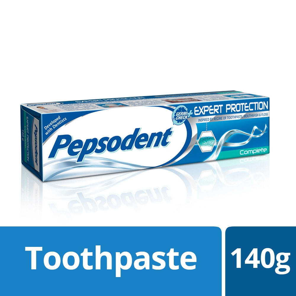 Pepsodent Expert Protection Complete Toothpaste, 140 gm, Pack of 1