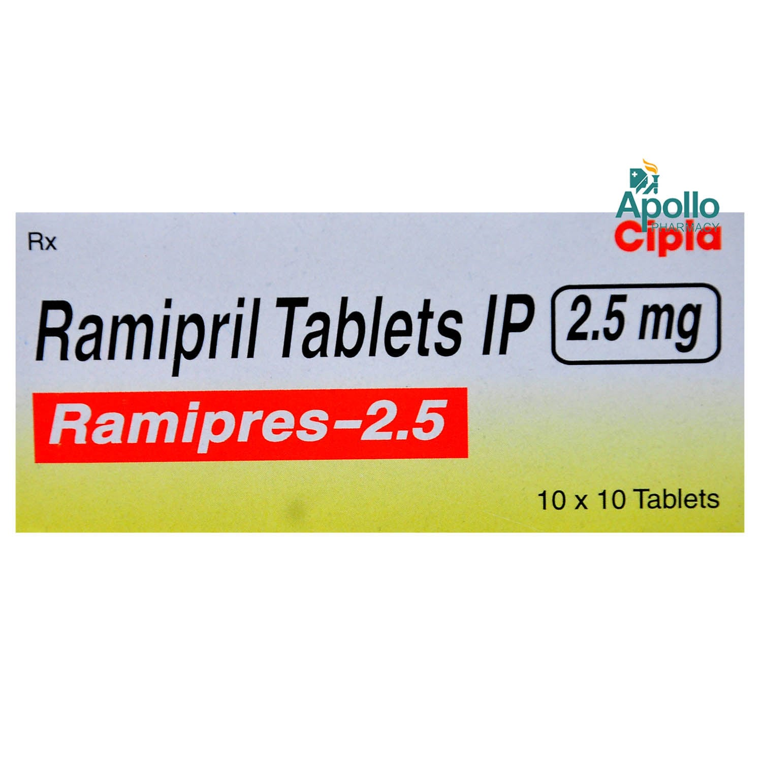 RAMIPRES 2.5MG TABLET Price, Uses, Side Effects, Composition ...