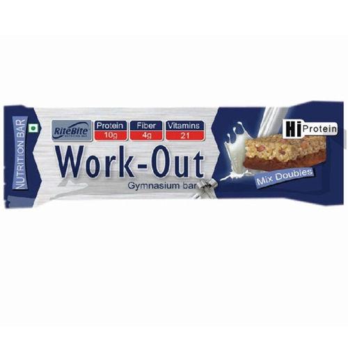 Ritebite Work-Out Bar, 50 gm, Pack of 1