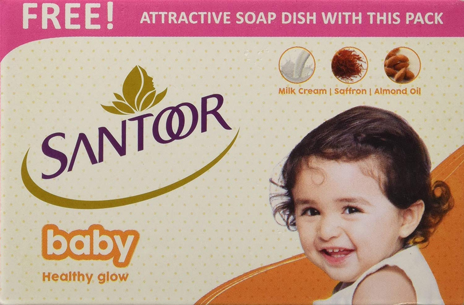 Santoor Baby Soap 75g Price, Uses, Side Effects, Composition - Apollo  Pharmacy