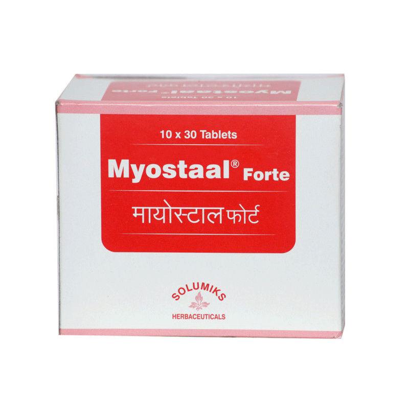 Solumiks Myostaal Forte, 30 Tablets, Pack of 1