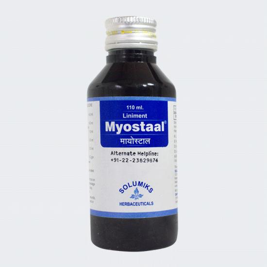Solumiks Myostaal Liniment, 60 ml, Pack of 1
