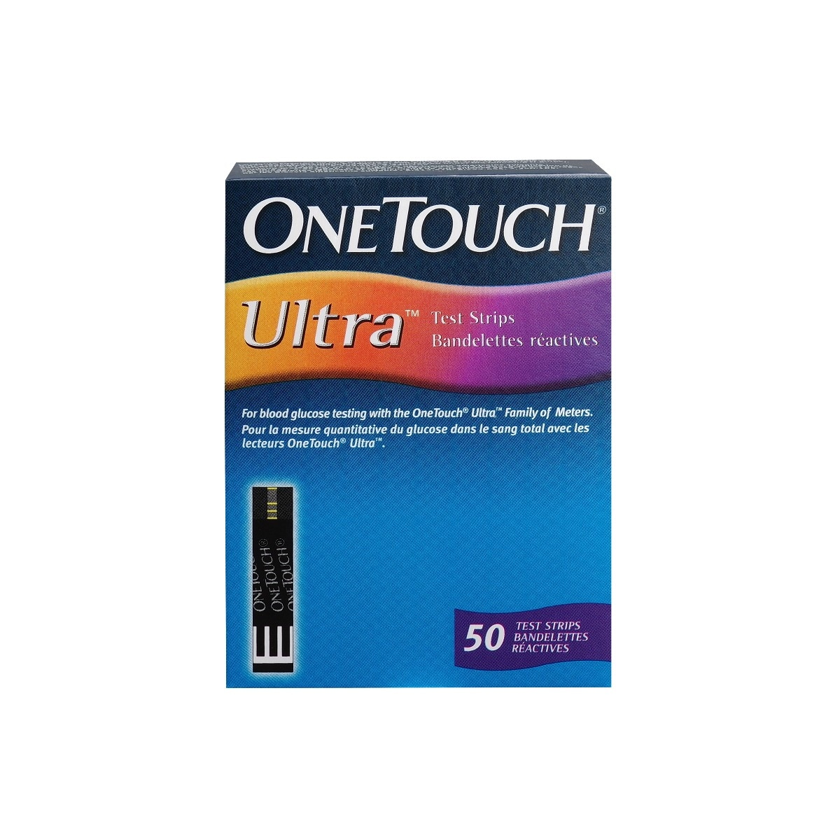 OneTouch Ultra Test Strips, 50 Count, Pack of 1