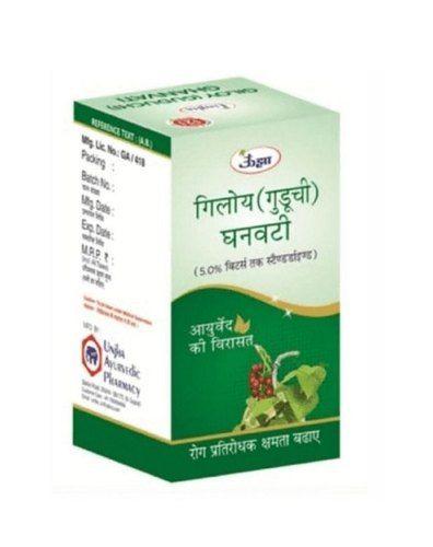 Unjha Giloy (Guduchi) Ghanvati, 60 Tablets, Pack of 1