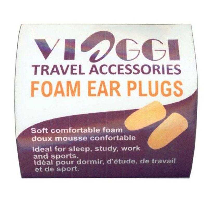 Viaggi Foam Ear Plugs, 2 Pairs, Pack of 1