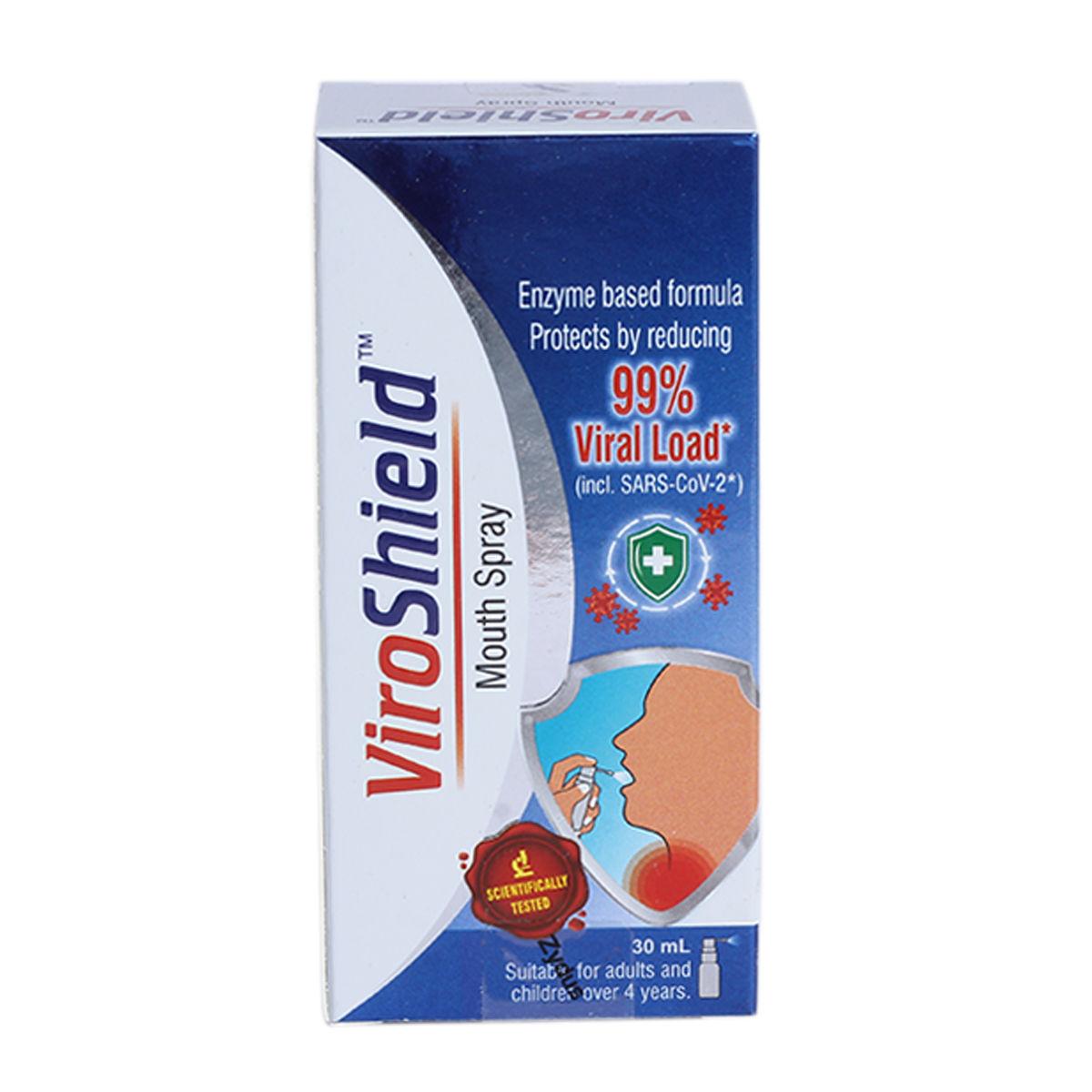 Viroshield Mouth Spray, 30 ml, Pack of 1